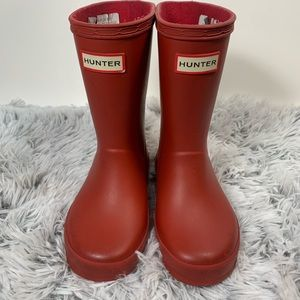 Hunter Rain Boots Red Toddler